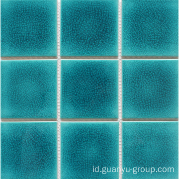Porcelain Glazed Split Swimming Pool Seri Mosaic Tile