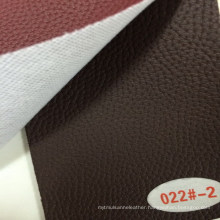New Style Synthetic PU Leather for Sofa Upholstery (HS022#)