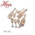 HYYX moderna decoración de fiesta de matrimonio interior barato