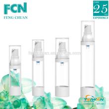 Botella de plástico dispensador de crema de aire sin plásticos 50ml clear PETG