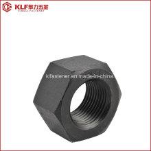 Porcas estruturais com acabamento preto A563 / DIN6915