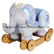 Élephant bleu-lavable lavable avec protection