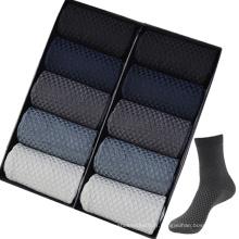 Chaussettes habillées en bambou pour hommes et femmes-M10