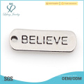 Affirmation charms wholesale, aluminum charms, different designs of alphabets charm