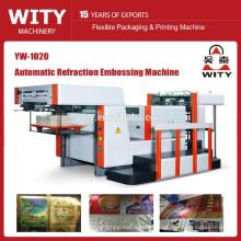 2015 Full Automatic cartón repujado máquina de precio