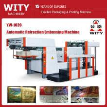 2015 Full Automatic paperboard embossing machine price