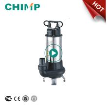 CHIMP V série 0.75HP carrinho de aço inoxidável elétrico auto bomba de esgoto submersível