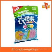 Guangzhou Hersteller benutzerdefinierte gedruckte Kunststoff zurück versiegelt Waschpulver Verpackung Tasche