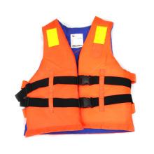 Polyethylene Foam Life Jacket (BLUE/Orange) .