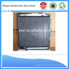 Sinotruk pièces de rechange 1011 radiateur en plastique et en aluminium 1011