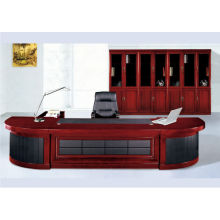 Bureau de bois de bureau bureau de placage de papier table de bureau à bas prix 2015 nouvelle mode