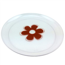 "Tableware 9""Round Plate Plastic Plate Disposable Tray"
