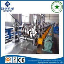 Máquina de fabricação de rolo de canal de canal unistrut plana