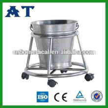 stainless steel waste bucket