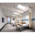 Alumínio 85-265V 12W / 36W LED quadrado painel de teto luz