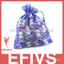 Purple Romantic Organza Bags Wholesale