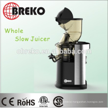 PBA Free 83mm diameter big mouth CE,GS Approval Whole Slow Juicer
