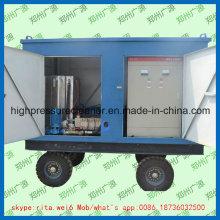 Nettoyeur industriel de jet d'eau de nettoyage de tube de chaudière de laveuse à haute pression