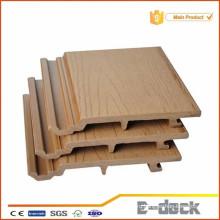 Деревянная пластиковая композитная панель WPC для наружной облицовки стен, защита от УФ-лучей
