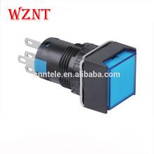 водонепроницаемость IP40 аварийный кнопочный выключатель на 12 В с подсветкой