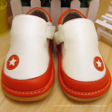 T Strape Baby Boy Shoes Squeaky Shoes Soft