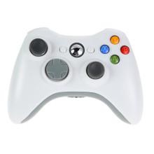 Weiß 2.4G drahtloser Gamepad Joypad Spiel-Fernsteuerpult-Steuerknüppel mit PC-Empfänger für Microsoft für Xbox 360 Spiel-Konsole