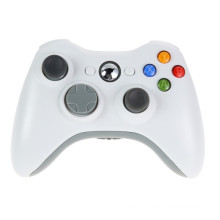 Blanc 2.4G Gamepad sans fil Joypad Game Manette de contrôle à distance avec Pc Reciever pour Microsoft pour Xbox 360 Game Console