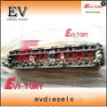 We can supply cylinder head / cylinder block / crankshaft / connecting rod / conrod / con rod for ISUZU 6HE1-T USED ON EXCAVATOR