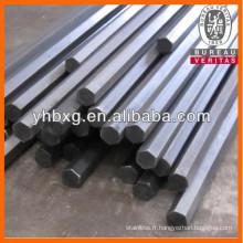 Tiges de hexagonale en acier inoxydable 316L