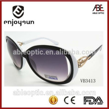 2015 lady fashion sunglasses with unique metal hinge pattern design wholesale Alibaba