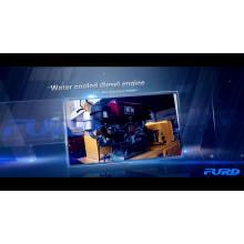 Konstruktion Stahlrad Mini Roller Compactor (FYL-855)