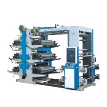Máquina de impresión de bolsas de plástico de seis colores