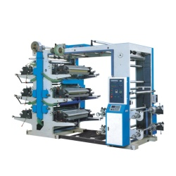 Six Color Plastic Bag Printing Machine