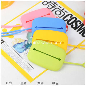 Feito em fábrica Custom Silicone Key Case Card Fashion Businesses