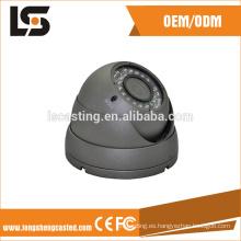 carcasa de cctv de mini caja de la cámara direcciones de 360 grados