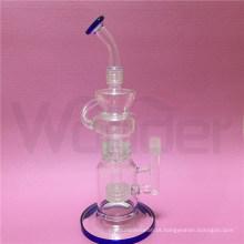 Tubulação de água de fumo de venda quente da altura de 12inch