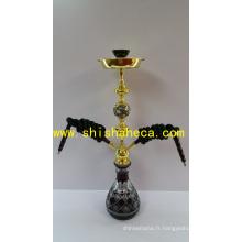 Top Qualité en gros Narguilé de fer Fumer Pipe Shisha Narguilé