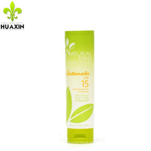 2018 New design skin care suncream tube for cosmetic packaging