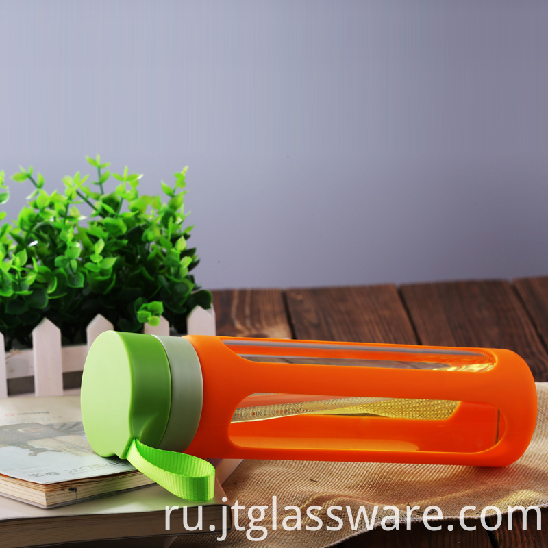 Health drinking glass bottle