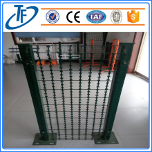 Straight Line Razor barbed wire mesh fence