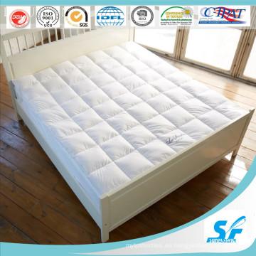 7D Culster Hollow fibra de relleno colchón topper para el hotel internacional