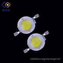 La fábrica produce el bulbo llevado de alta potencia del poder más elevado 1W blanco para la luz de calle