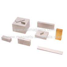 Retângulo e bloqueio Permanet Magnet-NdFeB