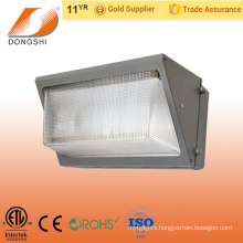 ETL listed IP65 60W corner fitting wall pack LED light fixture