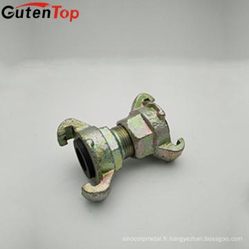 Coupleur d'accouplement de Camlock d'accouplement de tuyau d'air de GutenTop d'accouplement de griffe de tuyau d'air femelle de griffe pour des garnitures de tuyau