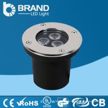Luz subterránea del LED, luz redonda subterráneo del LED 3W