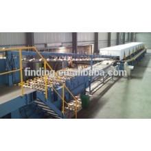 Hangzhou precio alta calidad automático pu máquina/discontinuo sandwich panel Línea de producción con CE
