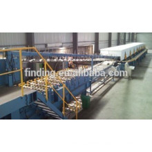 Hangzhou high quality automatic pu machine/discontinuous sandwich panel production line price with CE