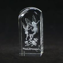3d Laser Crystal Engraving