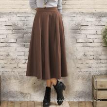 Falda de alta calidad de las señoras de la ropa de las mujeres